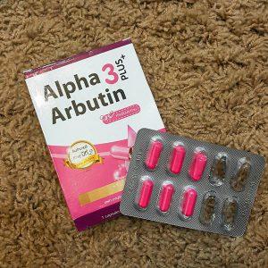 Viên Trắng Da Alpha Arbutin 3 Plus
