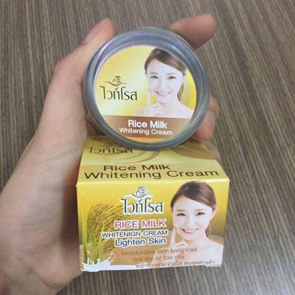 Rice Milk Whitening Cream